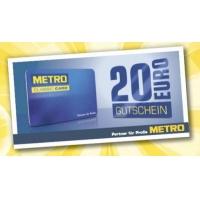 Metro – 20 € Gutschein GRATIS ab einem Einkauf von 100 € (brutto)