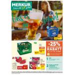 Merkur – 25 % Rabatt auf 2 Warengruppen (zB. Bier) bis 10. Oktober