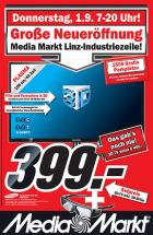 Eröffnungsangebote Media Markt Linz-Industriezeile (1.9.2011 von 7-20 Uhr)