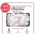 25% Rabatt auf Restaurantwertgutscheine (zB. Flatschers, …)