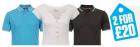 2 für 22,67€ (T-Shirt / Polos – Multipacks von Bench, Boxfresh u.s.w.) @theHut