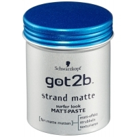 TOP! Männerpflegeprodukte als Tagesangebot bei Amazon – zB. 6x got2b Strand Matte Paste / Styling Gel um je 7,62 € statt 41,70 € / 35,70 €