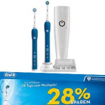 Oral-B Smart Series Pro 4900 + 2. Handstück um 99 € statt 107,80 € zusätzlich 28% Ersparnis mit der Cashback Aktion