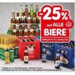 Interspar – 25 % Rabatt auf Bier (Radler) bis 10. Februar 2018