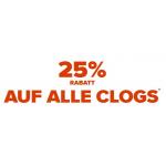 Crocs Onlineshop – 25% Rabatt auf ausgewählte Clogs + 5% Extra-Rabatt