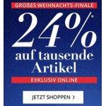 Peek&Cloppenburg – 24 % Extra-Rabatt auf tausende Artikel