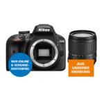 Nikon Spiegelreflexkamera D3400 mit Objektiv AF-S DX NIKKOR 18–105 mm VR inkl. Versand um 530 € statt 594,90 (neuer Bestpreis)
