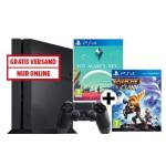 PS4 1TB Konsole + No Man's Sky + Ratchet & Clank + 3 Monate PlayStation Plus Mitgliedschaft gratis inkl. Versand um 255€ statt 359,99€