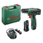 Bosch Akku-Bohrschrauber PSR 1080 inkl. 2 Akku + Koffer um 64,03 €
