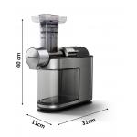 Philips HR1949/20 Slow Juicer im Edelstahlgehäuse um 219 € statt 310 €