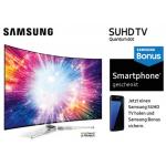 Samsung SUHD TV kaufen + Samsung Galaxy Smartphone geschenkt!