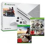 Xbox One S 500GB + 3 Games (z.B. Ghost Recon) um 299 € statt 414 €