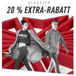 25% zusätzlicher Rabatt im Reebok Classics Outlet – Nur Heute!