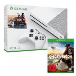 Xbox One S 500GB + Battlefield 1 + Ghost Recon Wildlands um 269,99 €