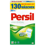 Waschmittel und Weichspüler als Amazon Tagesangebot – zB. Persil Waschmittel 130 WL (Gel oder Pulver) um 15,99 € statt 31,40 €