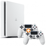 PlayStation 4 Slim – 500GB inkl. 2 Controllern um 249 € statt 348,43 €