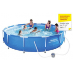 Bestway Steel Pro Frame Pool(366x76cm) inkl. Versand um 52€ statt 126€