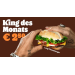 Burger King – King des Monats August: Long Curry Chicken um 2,50 €