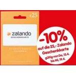 25 € Zalando Geschenkkarte um 22,50 € – bei Interspar (bis 19. April)