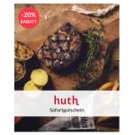 Restaurantwertgutscheine mit bis zu 20% Rabatt – z.B. Huth (alle Lokale)!