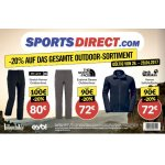 Sports Direct – 20 % Rabatt auf das gesamte Outdoor-Sortiment (bis 29.4.)
