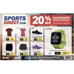 Sports Direct – 20 % Rabatt auf das gesamte Running-Sortiment (bis 5.8.)