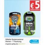 GEIL! 7x Gillette Rasierer mit 1,82 € Gewinn kaufen (Amazon/Marktguru)