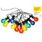 Lichterkette mit 10 bunten LED Lampen (7,5m) ab 9,50 € bei Möbelix.at