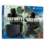 Playstation 4 Slim 1TB Bundle inkl. Call of Duty: Infinite Warfare Legacy Edition (Code) um 229 € statt 326,99 € bei Amazon