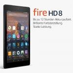 Fire HD 8-Tablet mit Alexa (8″, 16 GB) um 64,99 € statt 74,99 €