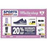 Sports Direct – 20 % Rabatt auf das gesamte Fitness-Sortiment (bis 13.5.)