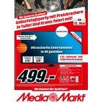 Media Markt Tulln Geburtstags-Angebote vom 14.- 20. Mai 2017