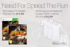 NUR HEUTE: Need For Speed – The Run (PS3/XBOX360) + 3 DKNY T-Shirts um  43€ @TheHut