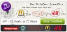 Der DailyDeal SpeedDay für Österreich (24h – 12 Deals – je 70 Stück) @DailyDeal.at