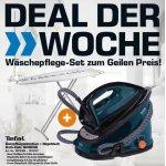 Tefal GV6839 Dampfbügelstation + Tefal Bügeltisch TI1200 um 169 €