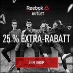 Reebok Outlet – 25 % zusätzlicher Rabatt auf über 270 Schuhe im Sale!