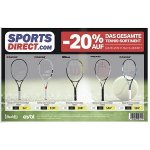 Sports Direct – 20 % Rabatt auf das gesamte Tennis-Sortiment (bis 3. Juni)
