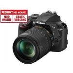 Nikon D3300 mit Objektiv AF-S VR DX 18-105mm um 459 € statt 499,50 €