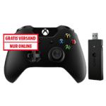 Xbox One Controller + Adapter für Windows um 39€ statt 64,95 €