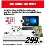 Xbox One S 500GB Bundle + Acer Convertible Notebook um 299 €