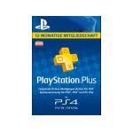 PlayStation Plus Mitgliedschaft – 12 Monate um 47,99 € statt 59,99 €