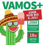 """educom Tarif """"vamos+"""" – 2.000 Einheiten (SMS + Telefonie) / 10 GB Daten um 9,99 € pro Monat – nur bis 30. September 2017 anmeldbar!"""