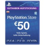 TOP! 50 € PlayStation Network Card um nur 37,50 € bei Libro