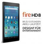 Fire HD 8-Tablet inkl. Versand um nur 79,99 € statt 109,99 € – nur heute!