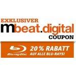 Müller – 20 % Rabatt auf alle Blu-Rays (bis 6. Juli 2017)