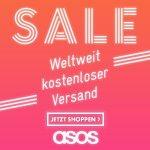 ASOS Fashion Onlineshop – Sale mit bis zu 60 % Rabatt