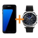 Samsung Galaxy S7 Edge + Samsung Gear S3 Classic um 519 € statt 744 €