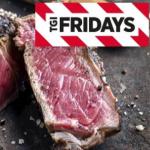 TGI Fridays – Steak & Wein für 2 Personen um 42,21 € statt 94,70 €