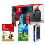 Nintendo Switch Konsole + Zelda + Zubehör um 399 € statt 455,11 €