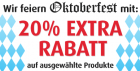 Oktoberfest: -20% extrarabatt bei ausgewählten Artikeln @MandMDirect